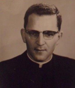 Mills Father Danny Mills ordination photo 1965