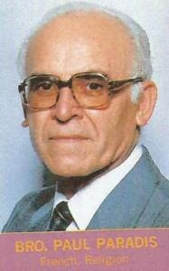 Brother John Paradis 1985