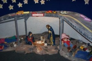 Leger nativity scene Cornwall Seaway news 23 Dec 2010