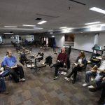 Book Club meeting (Toronto Globe and Mail photo)