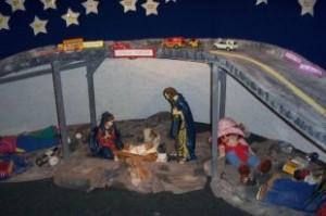 Leger nativity scene Cornwall Seaway news 23 Dec 2010